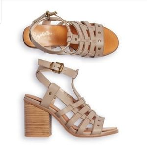 Seychelles Scout It Out Leather Stud Boho Heels